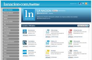 Twitter La Nación Online