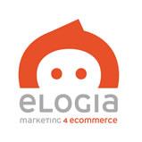 Nuevo logo de Elogia con baseline Marketing4ecommerce