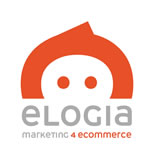 Nuevo logo de Elogia con baseline Marketing4ecommerce