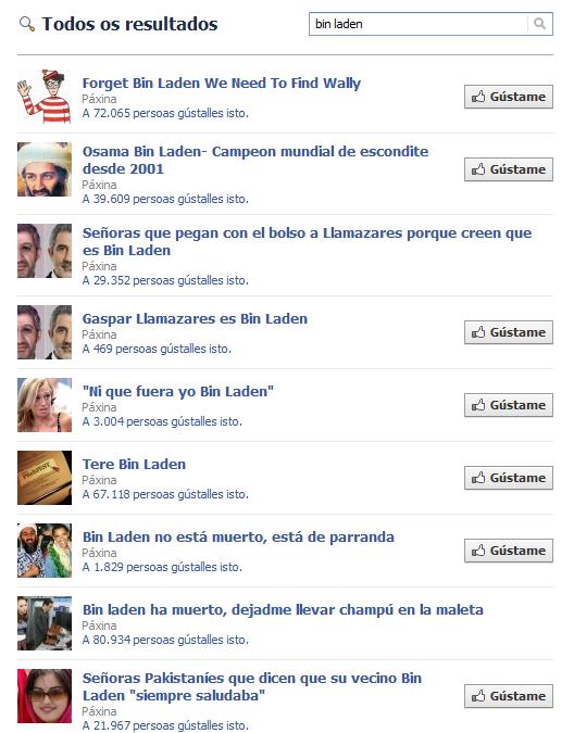 Bin Laden Facebook