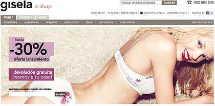 Gisela e-commerce