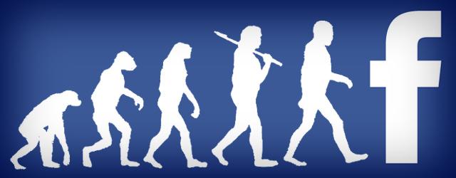 facebook evolution mashable