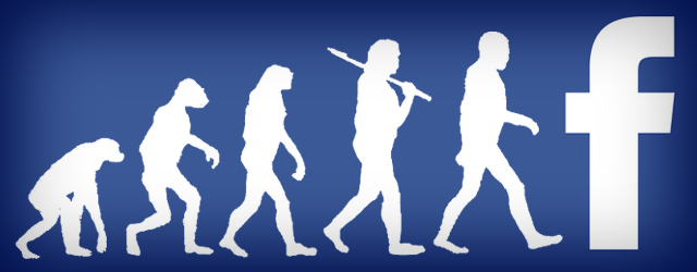 facebook evolution mashable