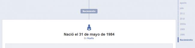 facebook nacimiento