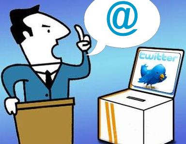 políticos twitteros