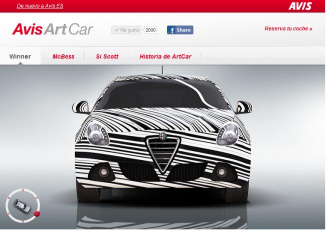 Avis ArtCar