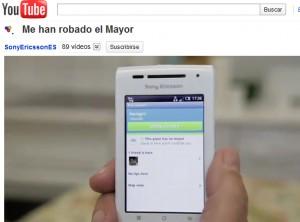Video viral de Sony Ericsson en Youtube