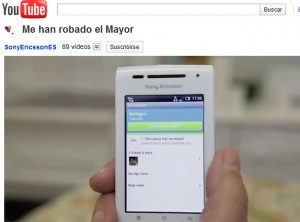 Video viral de Sony Ericsson en Youtube