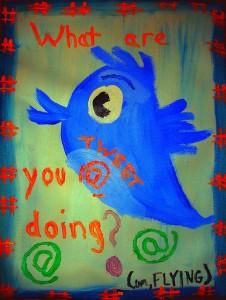 Dibujo de Twitter