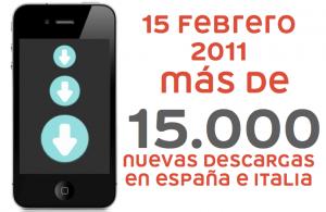 Mas de 15.000 descargas de Groupalia para iPhone