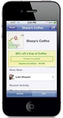 Ofertas de Facebook en tu móvil