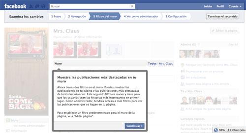 Tutorial de facebook sobre el nuevo diseño