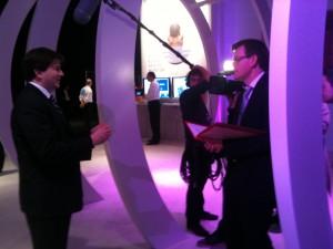 Medios de comunicación en el Mobile World Congress 2011