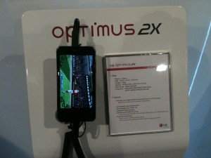 LG Optimus 2X, movil dual sim