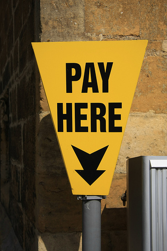 Pay here, by ChodHound
