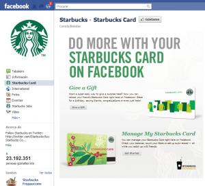 Facebook Starbucks