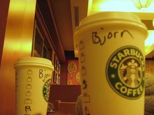 Starbucks by Bjørn Giesenbauer