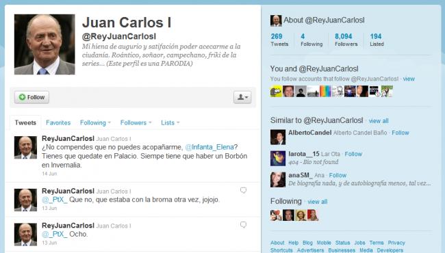 Juan Carlos I Phwitter