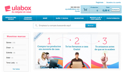 Nuevo diseño de Ulabox