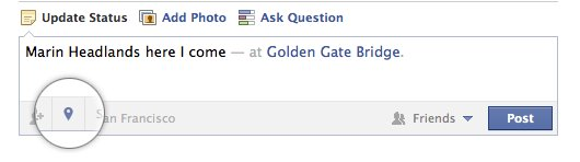 Geolocalización en Facebook