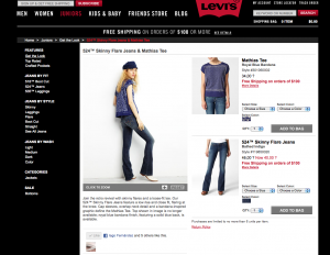 Levis sharing products