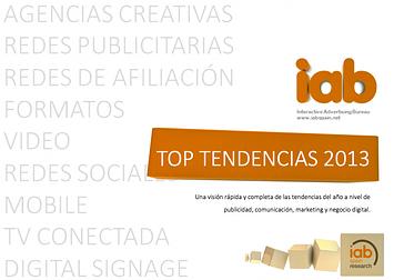 iab tendencias 2013