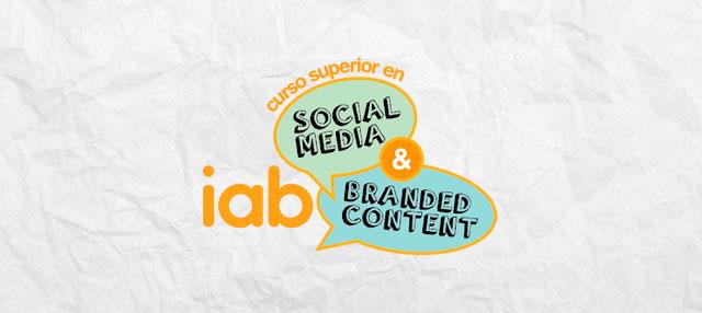 Curso Superior en Social Media & Branded Content de IAB Spain