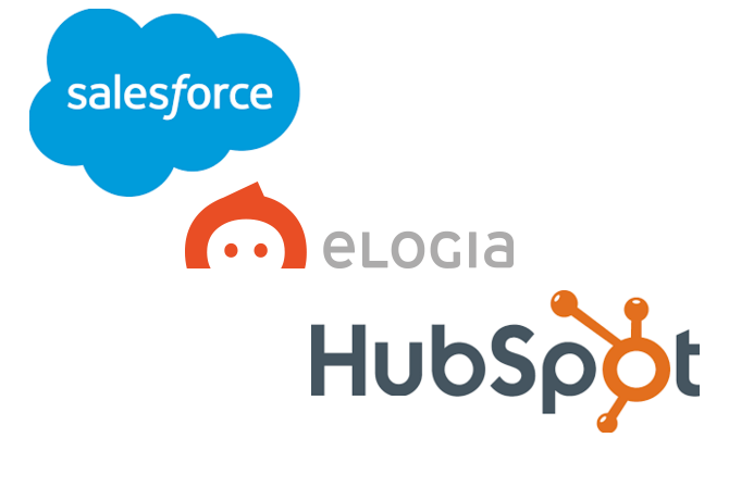 elogia hubspot salesforce