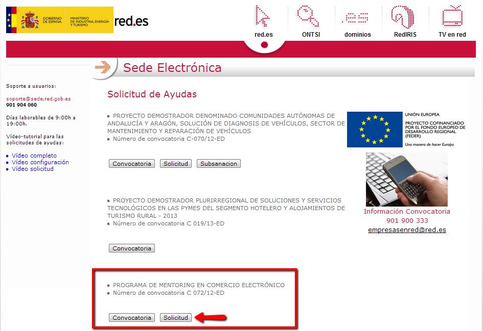 PROGRAMA DE MENTORING EN COMERCIO ELECTRÓNICO