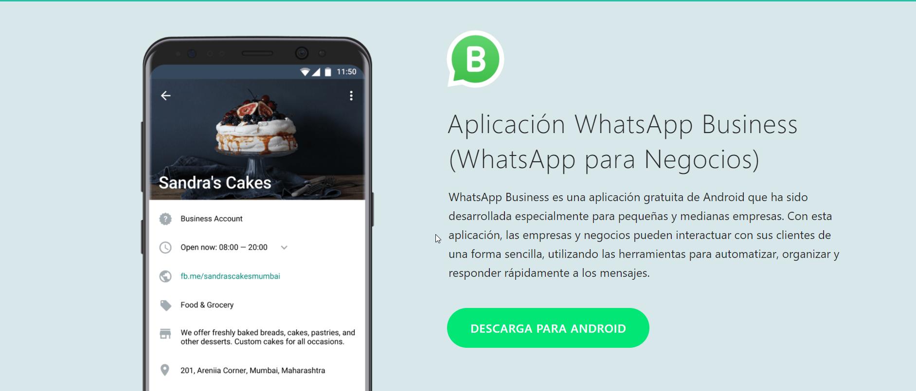2018-01-24 10_11_06-Aplicación WhatsApp Business (WhatsApp para Negocios)