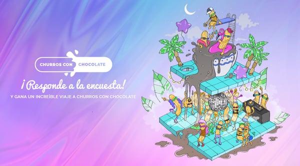 campaña elogia social ads churros con chocolate