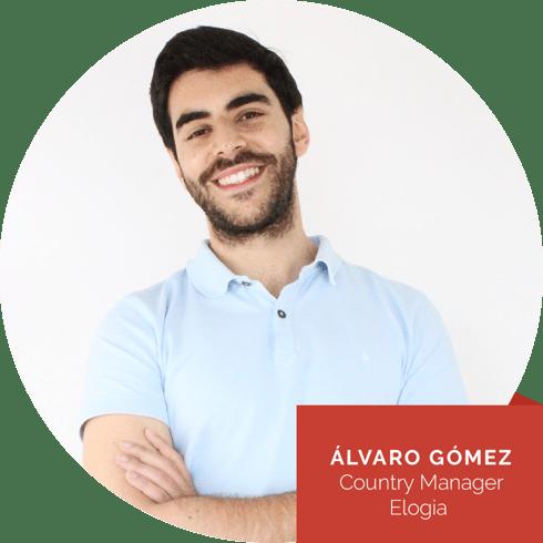 Álvaro Gómez, Country Manager Elogia