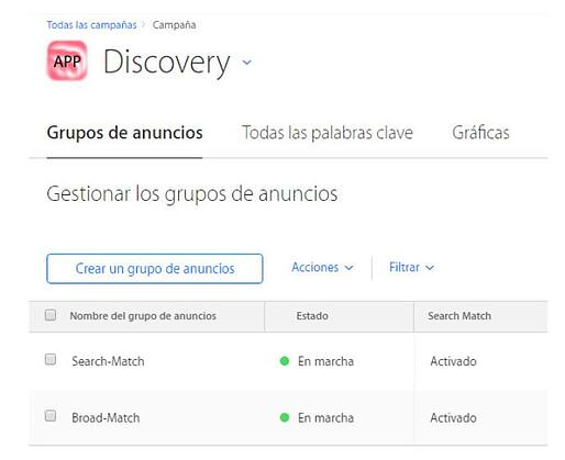 Apple Searchs Ads App