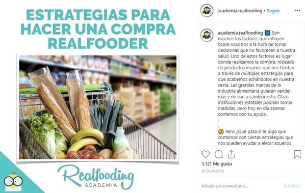 ejemplo compra realfooder contenido buyer persona 2