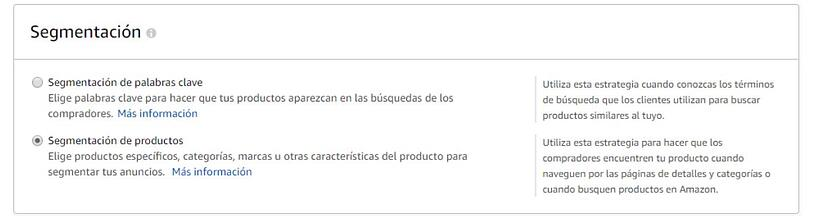 segmentacion anuncios amazon ads agencia marketing