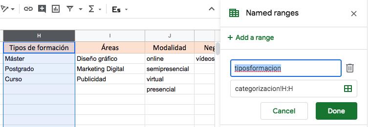 tabla3 categorizar palabras clave elogia