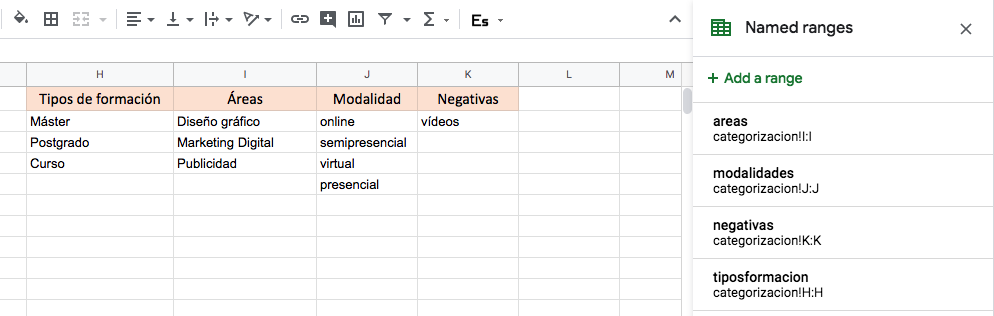 tabla4 categorizar palabras clave elogia